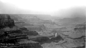 Grand Canyon. About 1960. Photo by Bernie Smetzer.