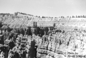 Bryce Canyon. 1959. Photo by Bernie Smetzer.